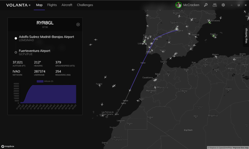 Volanta – Personal Flight Tracker