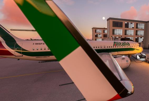 Livrea Alitalia 8k per A320 Neo