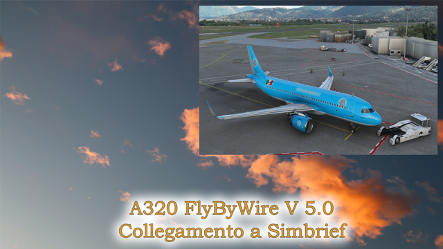 A320 FlyByWire V5.0 – Simbrief