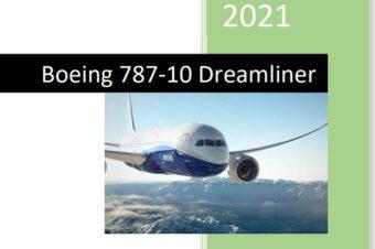 Manuale 787-10 Dreamliner