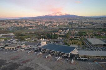 Volo VOR da Catania a Crotone con TBM930
