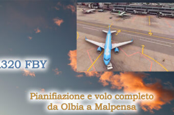A320 FBW – Olbia / Malpensa